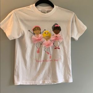 Girls Future Ballet Star Pink T Shirt